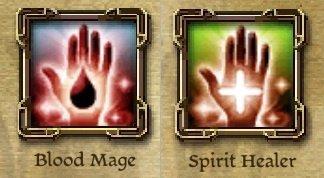 dao blood mage spirit healer