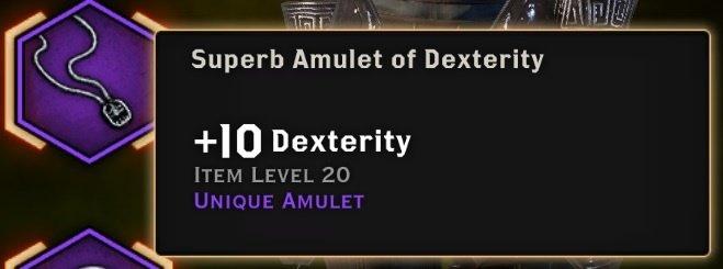 inquisition super amulet of dexterity