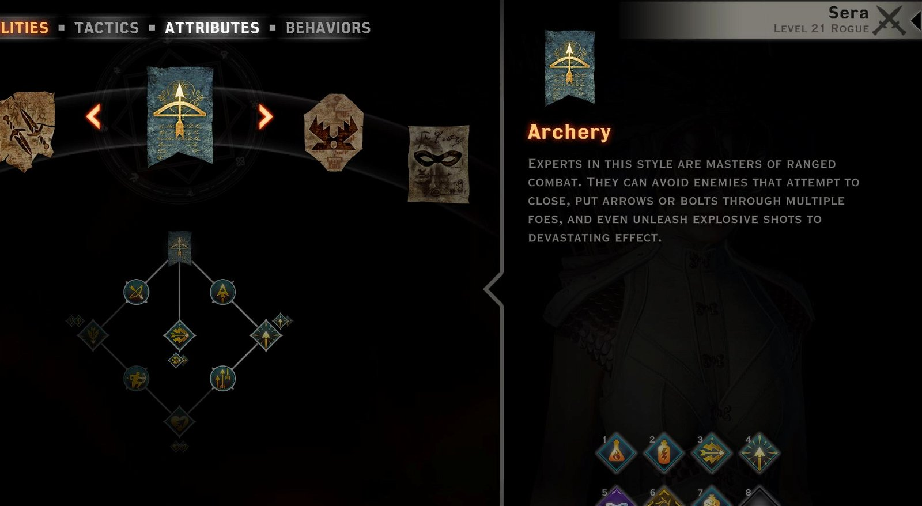 Archery tree sera