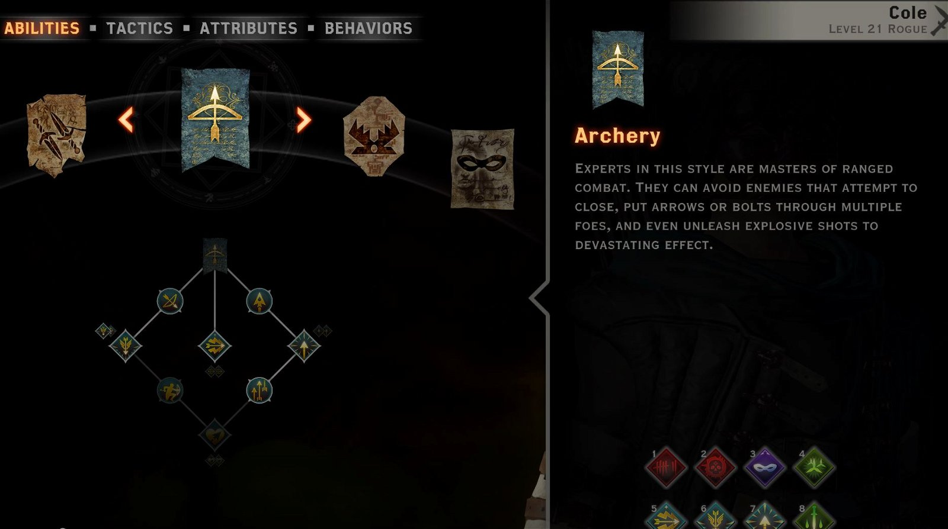 Cole archer Archery tree.JPG
