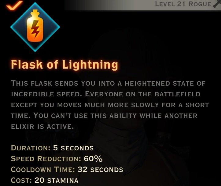 Flask of lightning description