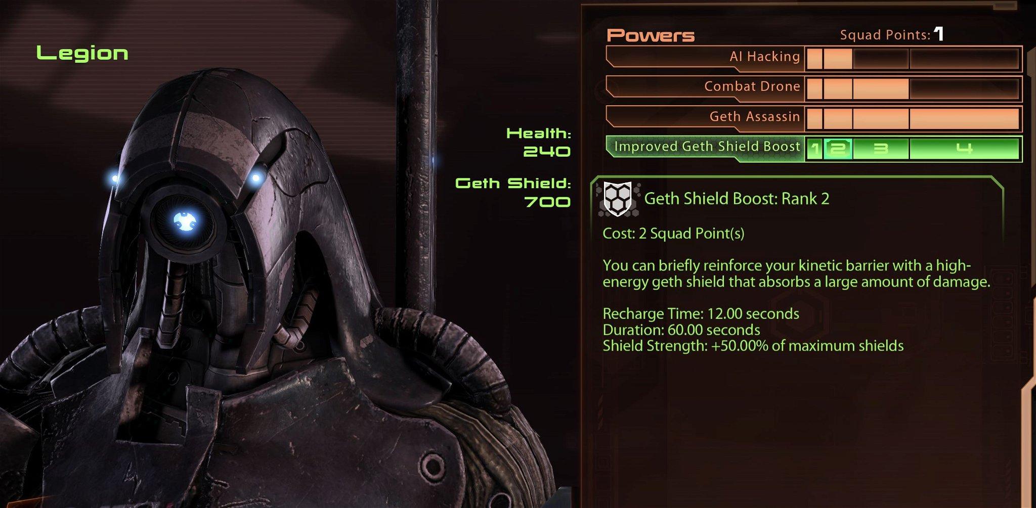 Legion build skills