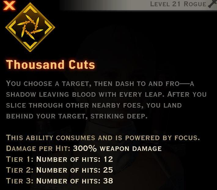 Thousand cuts description